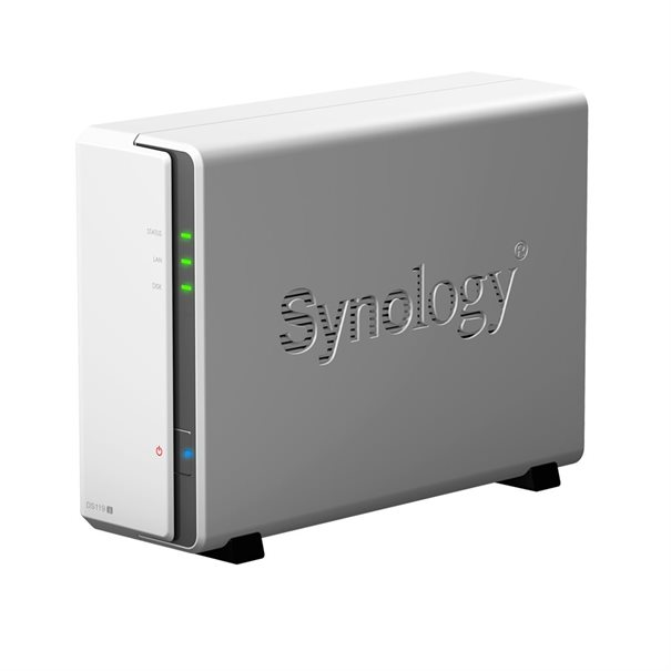 Synology NAS Disk Station DS119j (1 Baie)