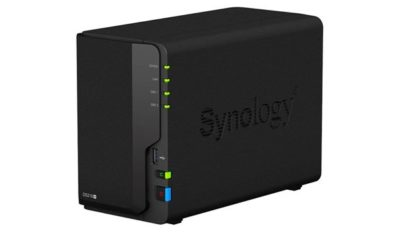 Synology NAS Disk Station DS218+ (2 baies)